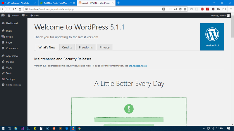 How to install WordPress locally – Windows 10