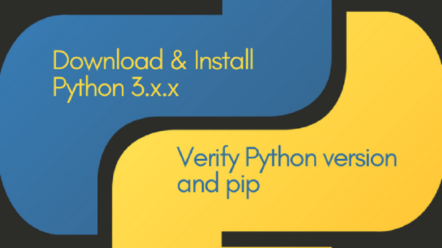 Download & install python 3.x