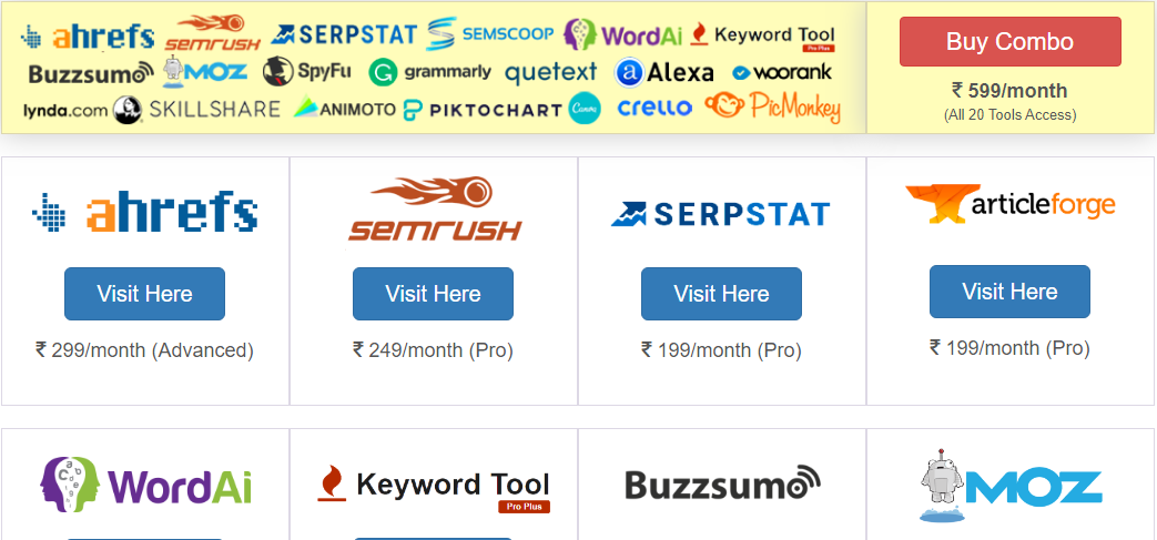 pro seo group tools