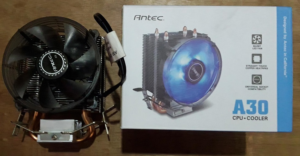 antec A 30 cpu cooler fan