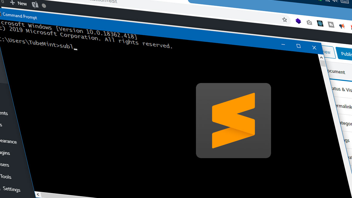 Open Sublime Text from Windows Command Line (CMD) and Power Shell