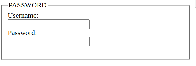 html 5 input password data type