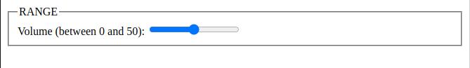 html 5 input range data type