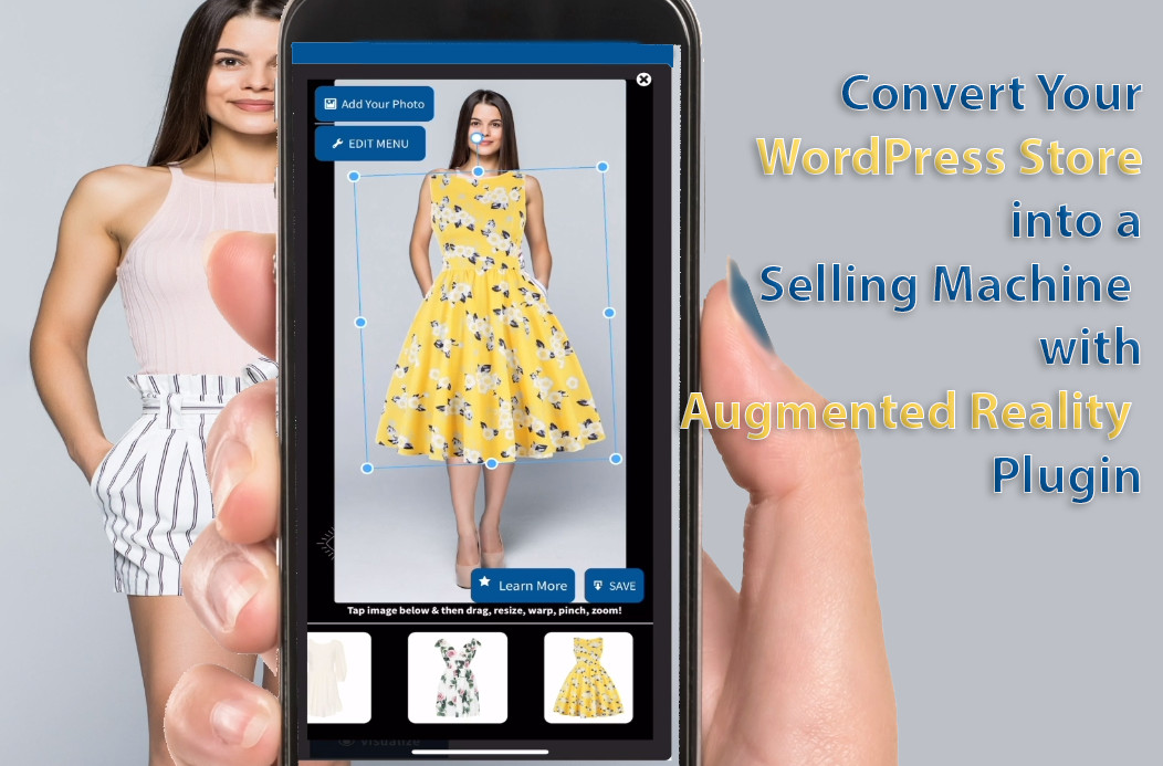 wordpress woocommerce augmented reality plugin