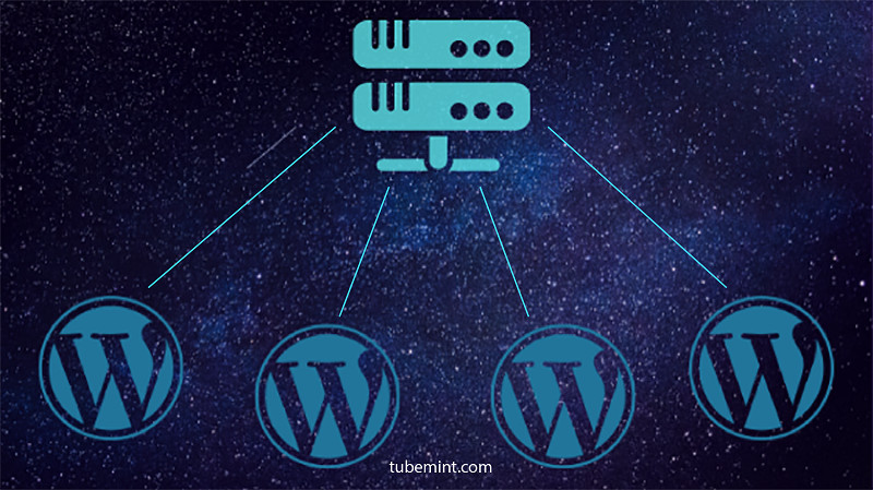 host multiple wordpress on cloud