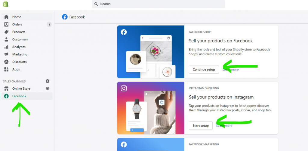 add-shopify-products-to-facebook-shop-and-instagram
