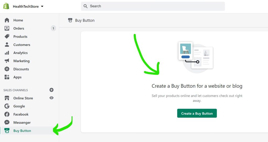sell shopify products on sites and blog